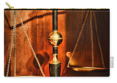 Lawyer - Scales Of Justice Carry-all Pouch