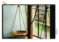 Lawyer - Scales Of Justice Carry-all Pouch by Susan Savad