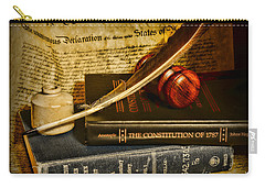 Lawyer - The Constitutional Lawyer Carry-all Pouch by Paul Ward