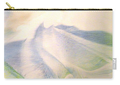 Carry-all Pouch featuring the painting Lay Of The Land by Mike Breau