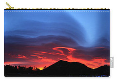 Layers In The Sky - Panorama Carry-all Pouch