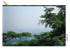 Layers Of Tree Carry-all Pouch by Kiran Joshi