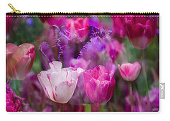 Layers Of Tulips Carry-all Pouch