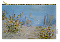 Lbi Peace Carry-all Pouch by Judith Rhue