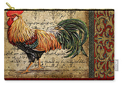 Le Coq-c Carry-all Pouch by Jean Plout