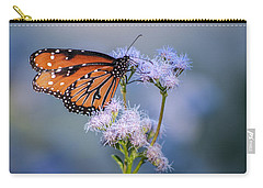 8x10 Metal - Queen Butterfly Carry-all Pouch by Tam Ryan