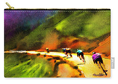 Le Tour De France 02 Carry-all Pouch by Miki De Goodaboom