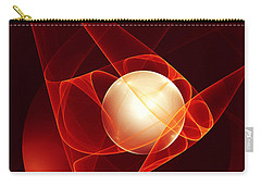 Carry-all Pouch featuring the digital art Lead Me Into Temptation by Gabiw Art