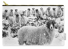 Leader Of The Flock Carry-all Pouch by Janet Burdon