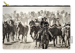 Leader Of The Pack Carry-all Pouch by Joan Davis