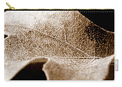 Carry-all Pouch featuring the photograph Leaf Collage 1 by Lauren Radke
