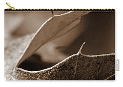 Carry-all Pouch featuring the photograph Leaf Collage 2 by Lauren Radke