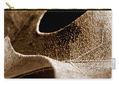 Carry-all Pouch featuring the photograph Leaf Collage 3 by Lauren Radke
