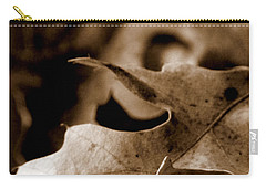 Carry-all Pouch featuring the photograph Leaf Collage 4 by Lauren Radke