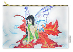 Leaf Fairy Carry-all Pouch