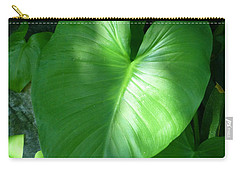 Leaf Heart Carry-all Pouch
