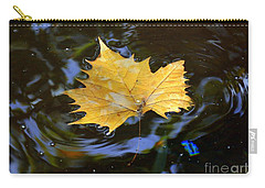 Leaf In Pond Carry-all Pouch