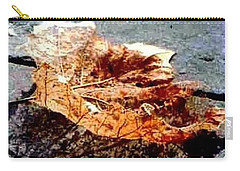 Leaf Lace In New Orleans Louisiana Carry-all Pouch by Michael Hoard