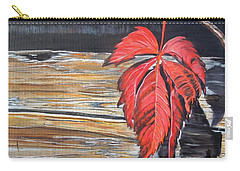 Leaf Shadow Carry-all Pouch