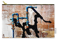 Carry-all Pouch featuring the photograph Leaky Faucet II by Christiane Hellner-OBrien