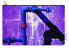 Carry-all Pouch featuring the photograph Leaky Faucet IIi by Christiane Hellner-OBrien