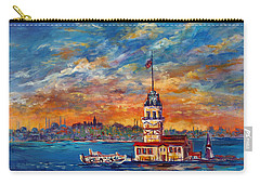Leanders Tower  Istanbul Carry-all Pouch