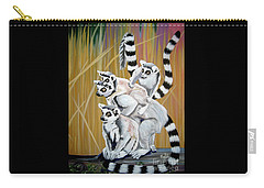 Leapin Lemurs Carry-all Pouch