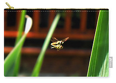 Carry-all Pouch featuring the photograph Leave No Bee Behind by Thomas Woolworth