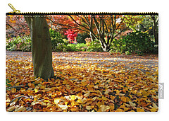 Leaves And More Leaves Carry-all Pouch