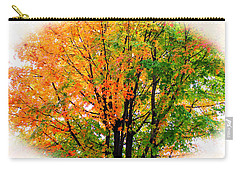 Leaves Changing Colors Carry-all Pouch by Cynthia Guinn