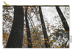 Carry-all Pouch featuring the photograph Leaves Lost by Photographic Arts And Design Studio