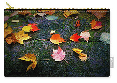 Leaves On Rock  Carry-all Pouch