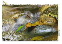 Leaves On The Rocks Carry-all Pouch