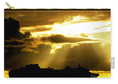 Carry-all Pouch featuring the photograph Leaving Kona by David Lawson