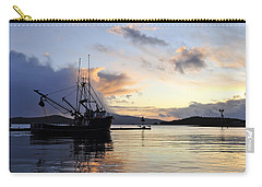 Carry-all Pouch featuring the photograph Leaving Safe Harbor by Cathy Mahnke