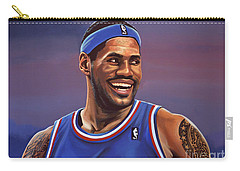 Lebron James  Carry-all Pouch by Paul Meijering