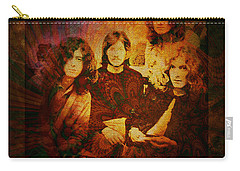Led Zeppelin - Kashmir Carry-all Pouch by Absinthe Art By Michelle LeAnn Scott