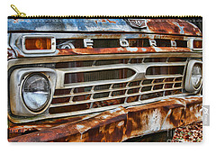Left To Rust By Diana Sainz Carry-all Pouch