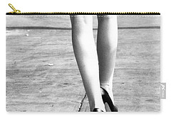 Carry-all Pouch featuring the photograph Legs New York by Rebecca Harman