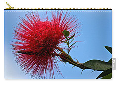 Lehua Blossom Carry-all Pouch by Venetia Featherstone-Witty