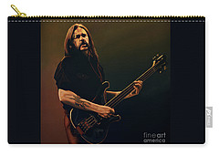 Lemmy Kilmister Painting Carry-all Pouch by Paul Meijering