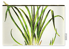 Lemon Daylily Botanical Carry-all Pouch
