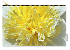 Carry-all Pouch featuring the photograph Lemon Drop by Lilliana Mendez
