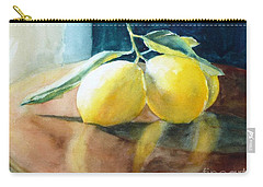 Lemon Reflections Carry-all Pouch