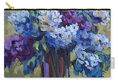 Lemons And Lilacs Carry-all Pouch by Diane McClary