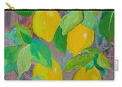Lemons On Lemon Tree Carry-all Pouch