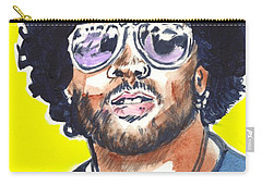 Lenny Kravitz Carry-all Pouch by Bryan Bustard