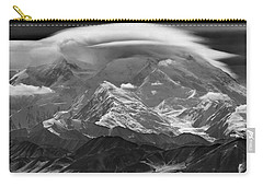 101366-lenticular Cloudcap Over Mt. Mckinley Carry-all Pouch