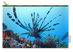 Carry-all Pouch featuring the photograph Leon Fish by Sergey Lukashin