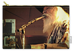 Carry-all Pouch featuring the photograph Leon Russel Live by Mike Martin